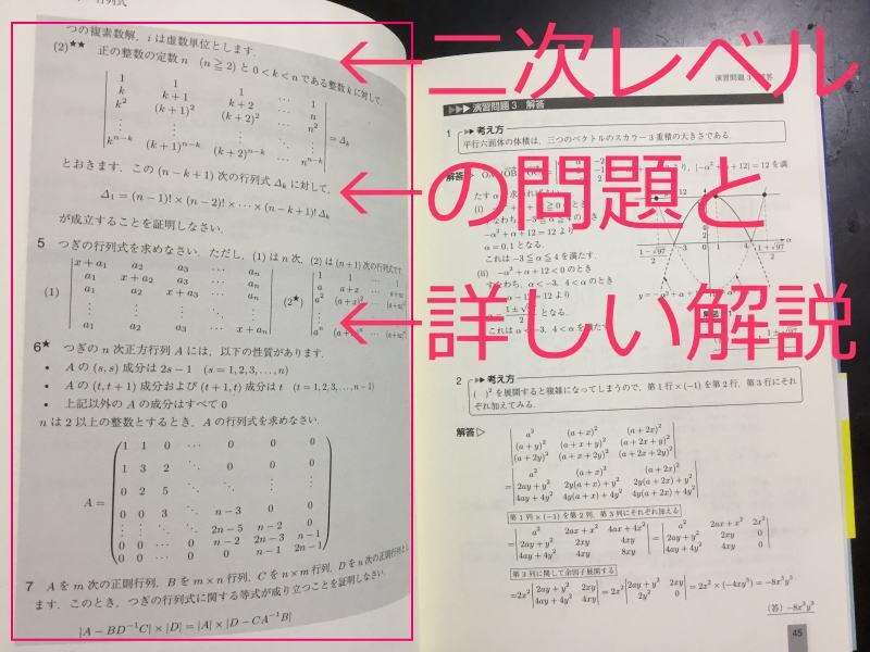 数学検定1級の二次対策