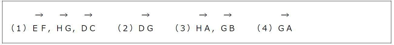 空間ベクトルの相当(答え)